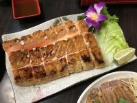 鮭ハラス焼き180112