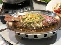 蒸し魚180119