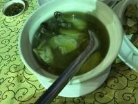 丸鶏スープ180202