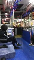 帰りはバスで171024