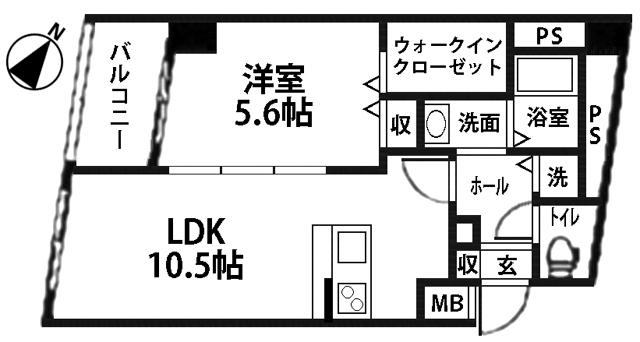 ■物件番号5094 激レア!海が見える1LDK+WIC!オートロック!屋外シャワー!敷ゼロ!・礼ゼロ!8.4万円!