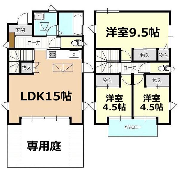 ■物件番号5110 広い庭付の一戸建て賃貸!人気の辻堂東海岸!13.5万円!3LDK!海10分!