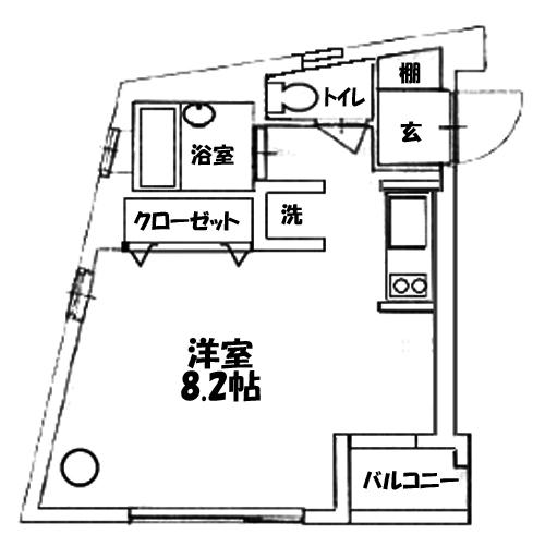 ■物件番号5169 格安デザイナーズ物件!海側!駅9分!2階カド!BT別!海近い!5.6万円!
