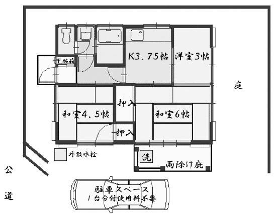 ■物件番号5248 昭和レトロ平屋!鵠沼神明!庭&駐車場付7万円!南向き日当り最高!
