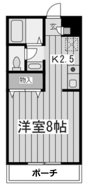 ■物件番号5284 海まで徒歩7分!5.5万円!2階!バストイレ別!独立洗面!洋室8帖の1K!26平米!敷地P有り!