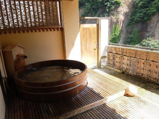 露天樽風呂