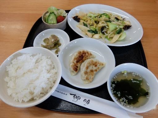 野菜の辛炒め定食