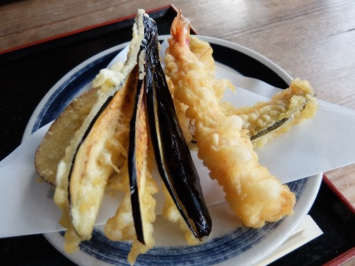 別盛りの天ぷら