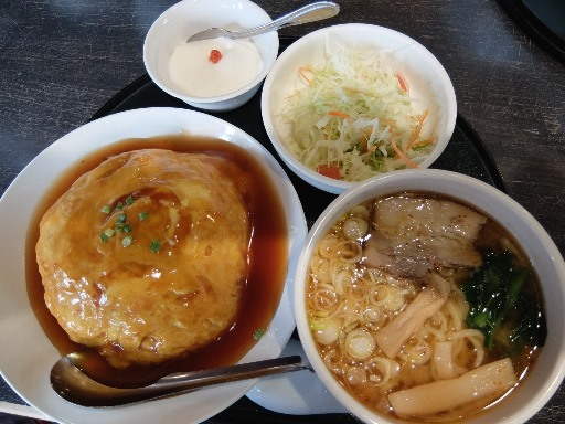 ハーフ丼&ハーフ麺