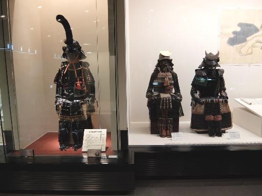甲冑の展示