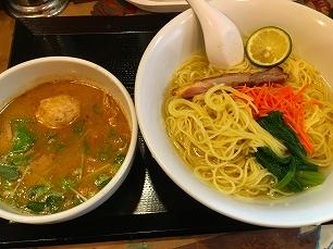 170914似星@キジパイタンつけ麺