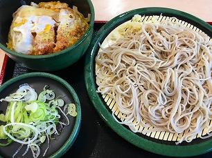 171008ゆで太郎@500円ランチカツ丼