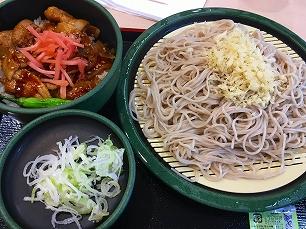 171008ゆで太郎@500円ランチ豚丼