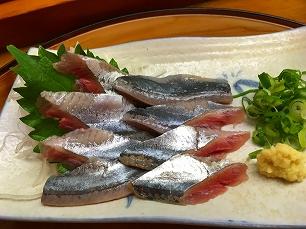 171012栄寿司@サンマ刺し