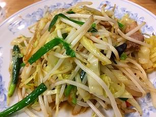 171028満州@野菜炒め