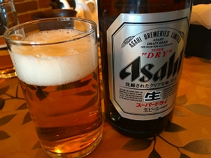 171209奉天飯店@瓶ビール