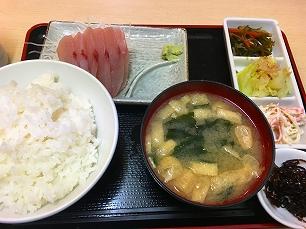 171215酒菜@カンパチ刺定食850