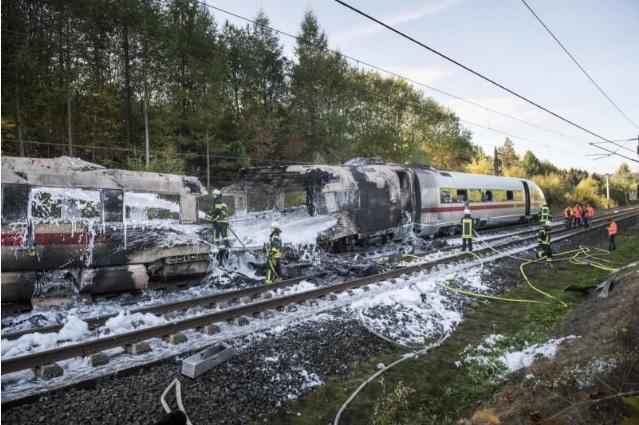 2018-10-15ドイツの高速鉄道火災