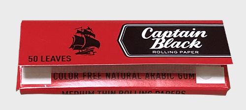 キャプテンブラック CAPTAIN_BLACK 手巻きタバコ RYO 巻紙 ローリングペーパー