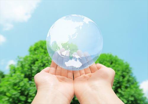 手のひらと地球環境_R