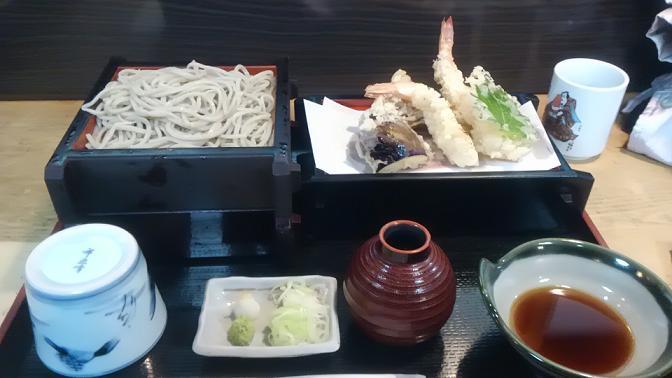 11月11日・登喜和さんのお蕎麦