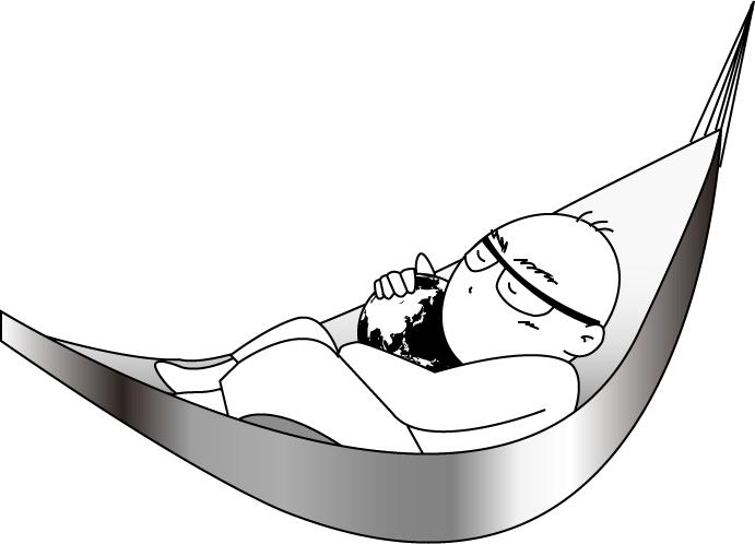 地球を抱いて眠る-3