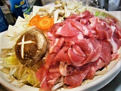 豚肉旨辛味噌鍋 (4)