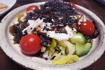 長芋黒ゴマサラダ