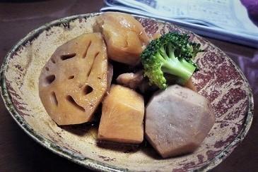 蓮根と里芋
