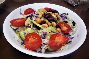 煎り豆サラダ