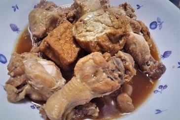 鶏ポン酢煮