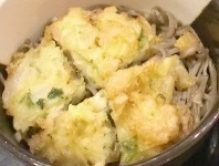 171231天ぷらそば 夕食 (2)