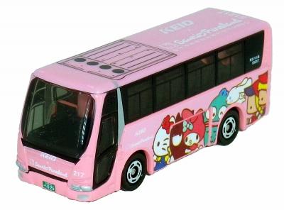特注トミカ 京王バス サンリオピューロランド号
