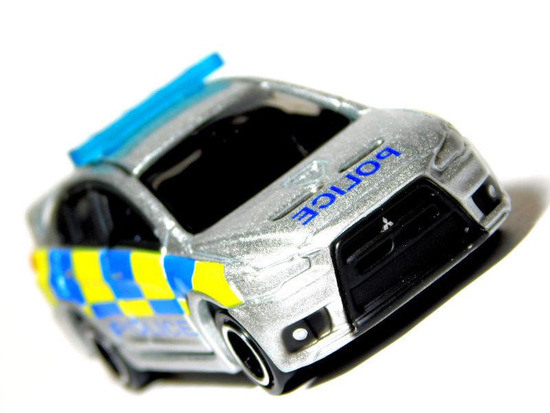 【2017年6月廃盤】No.039 三菱 ランサーエボリューションX 英国警察仕様