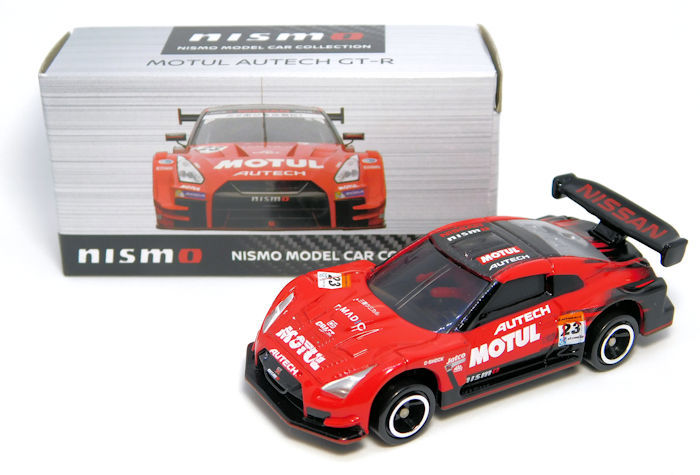 【NISMO特注トミカ】 MOTUL AUTECH GT-R #23 SUPER GT GT500 2017 Color