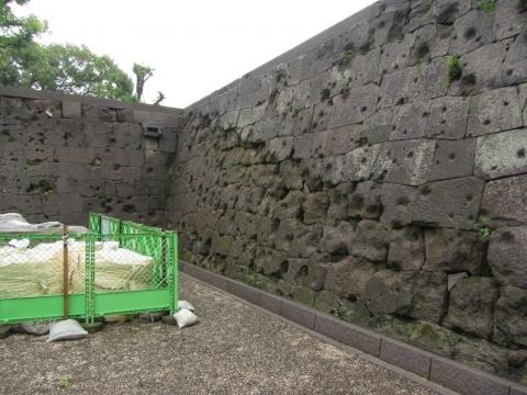 鶴丸城御楼門跡