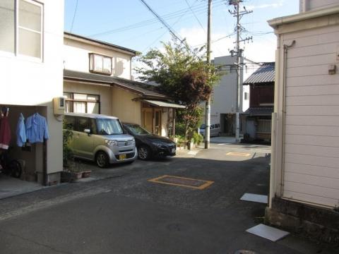 旧東海道 由比今宿