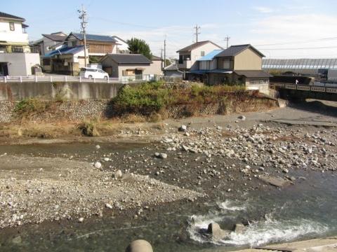 由比川の渡し跡