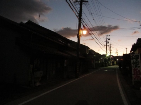 蒲原宿夕景