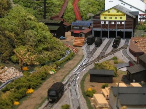 昭和炭鉱模型