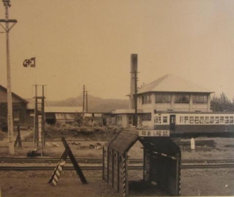 恵比島駅古写真