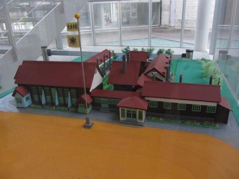 滝里小学校旧校舎模型