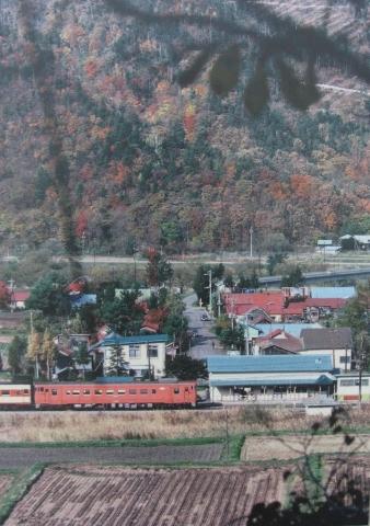 滝里駅古写真