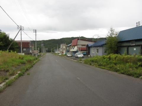 旧三井芦別駅前通り
