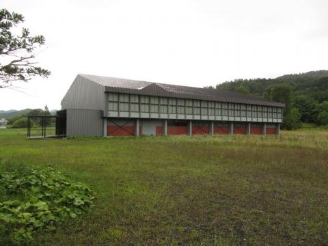 旧西芦別小学校体育館