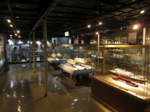 摩周丸・3階展示室