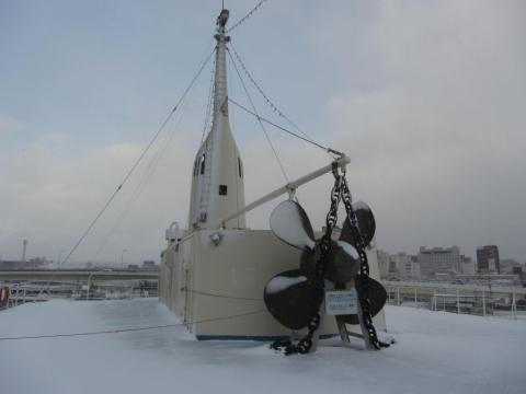 摩周丸・4階デッキ(航海甲板)
