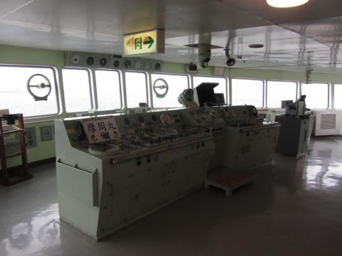 摩周丸・船橋(操舵室)