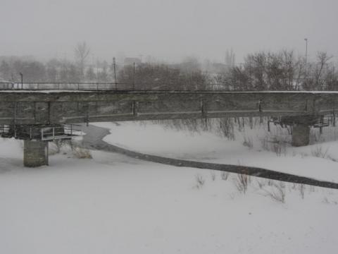 信砂川橋梁