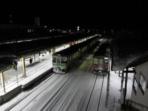 深川駅夜景
